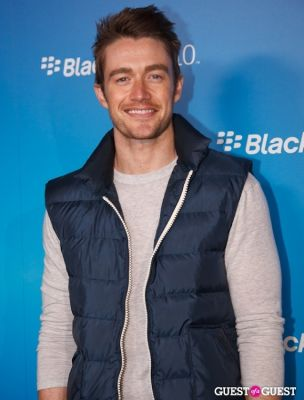 robert buckley in BlackBerry Z10 Launch