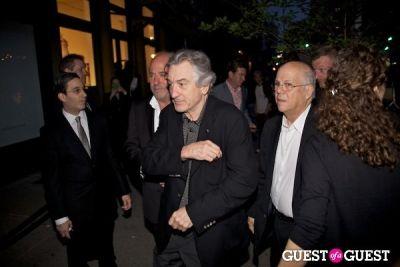 robert deniro in Chanel Tribeca Film Festival Dinner