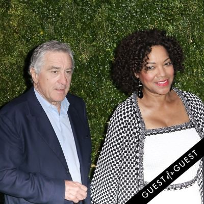 grace hightower in Chanel's Tribeca Film Festival Artists Dinner