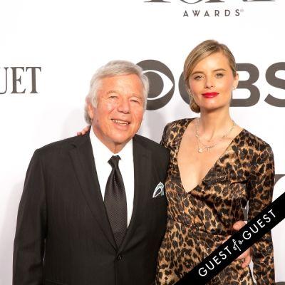 robert kraft in The Tony Awards 2014