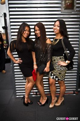 robin chou in Sunset Brunch Club at STK Rooftop