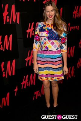 robyn lawley in H&M Hosts Private Concert with Lana Del Rey