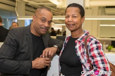 rocky carroll in Perkins+Will Fête Celebrating 18th Anniversary & New Space