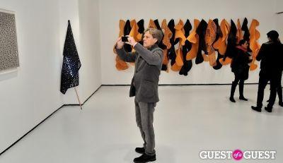 "roger misrachi in Ricardo Rendon ""Open Works"" exhibition opening"