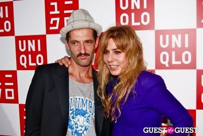 roman milisic in UNIQLO Global Flagship Opening
