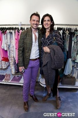 ron suhanosky in The Well Coiffed Closet and Cynthia Rowley Spring Styling Event
