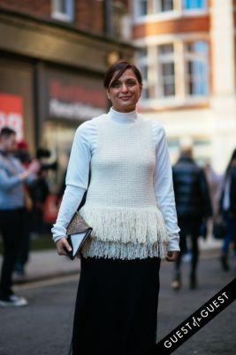 roopal patel in London Fashion Week Pt 1