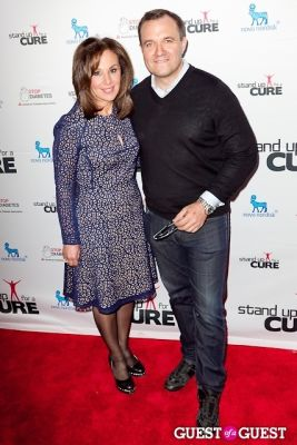 greg kelly in Stand Up for a Cure 2013 with Jerry Seinfeld