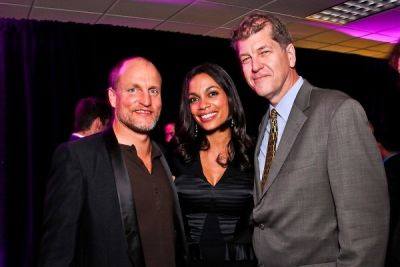 woody harrelson in WHCD First Amendment Party
