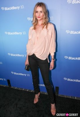 rosie huntington-whiteley in BlackBerry Z10 Launch