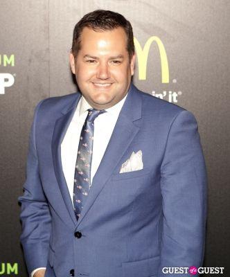 ross mathews in McDonald's Premium McWrap Launch With John Martin and Tyga Performance