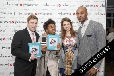 seto mccoy in Wherever Magazine Launch