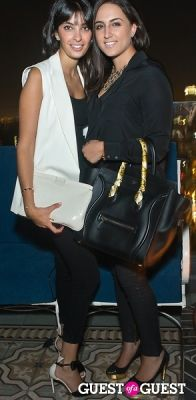 roz saedi in Coronet Solitaire Launch Party
