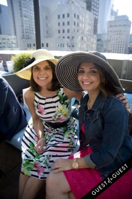 rupal patel in Kentucky Derby at The Roosevelt Hotel