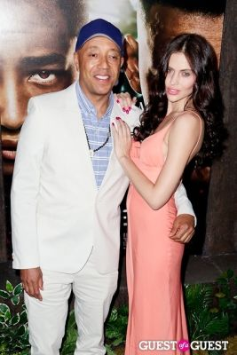 russell simmons in After Earth Premiere