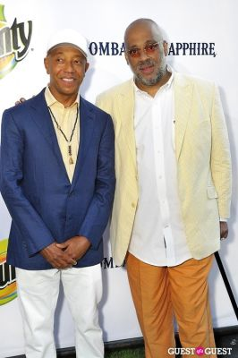 russell simmons in 11th Annual Art for Life Garden Party