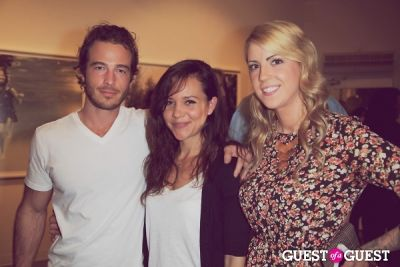 ryan carnes in Private Reception of 'Innocents' - Photos by Moby