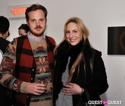 susi kenna in Retrospect exhibition opening at Charles Bank Gallery