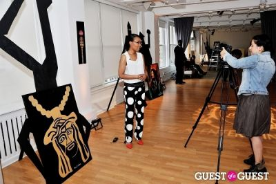 s. whitaker in Reign Entertainment Hosts The Launch of 3D Art by S. Whittaker