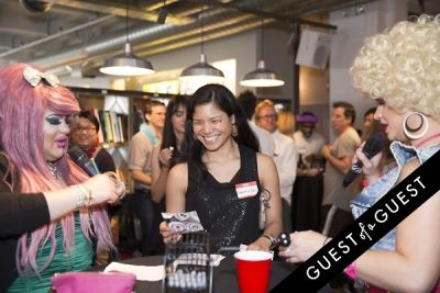 sachie miiahira in iCRAVE:BINGO NYCxDesign Fundraiser for The New Challenge