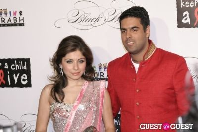 kanika kapoor-chandok in Keep A Child Alive's Eight Annual Black Ball New York 2011