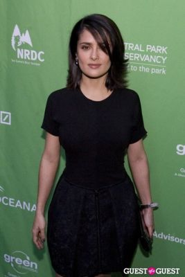 salma hayek in Christies Green Auction