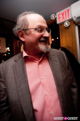 salman rushdie in Jimmy Cliff at Miss Lily's