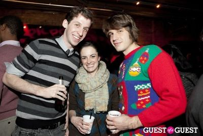 sam duboff in 36 Cooper Holiday Party