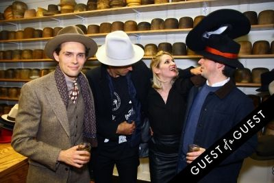 sam dunning in Stetson and JJ Hat Center Celebrate Old New York with Just Another, One Dapper Street, and The Metro Man