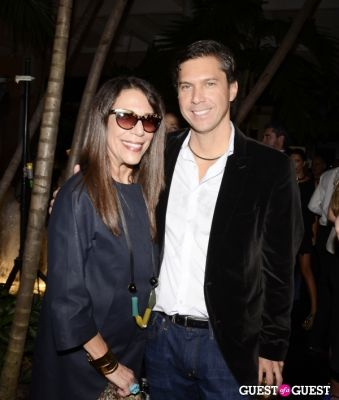 sam robbin in Sergio Rossi Party at Bal Harbour Shops