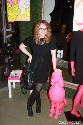 samantha frank in The Warholian Opening Party