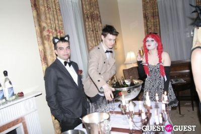 samantha kaplan in Lovecat Magazine Halloween Dinner Hosted by Jessica White and Byrdie Bell
