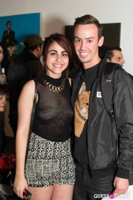 sara naoura in Cat Art Show Los Angeles Opening Night Party at 101/Exhibit