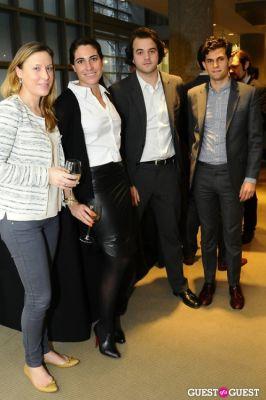 laura de-gunzburg in IvyConnect NYC Presents Sotheby's Gallery Reception