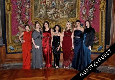 sarah flint in The Frick Collection Young Fellows Ball 2015
