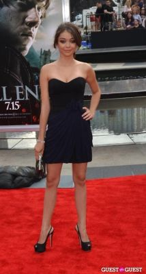 sarah hyland in Harry Potter And The Deathly Hallows Part 2 New York Premiere