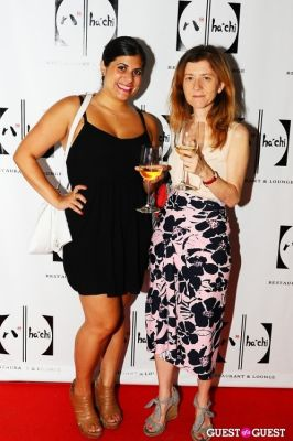 sarah shaker in HaChi Restaurant and Lounge Opening