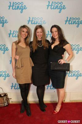 sarah waites-elkins in Arrivals -- Hinge: The Launch Party