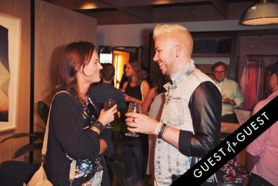 jake hammel in Bonobos Guideshop LA Opening