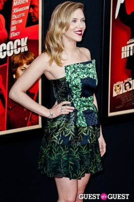 scarlett johansson in HITCHCOCK The New York Premiere