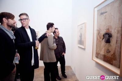 scott anthony in David Lynch 'Naming' Opening Reception