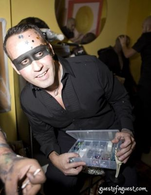 scott buccheit in Lydia Hearst's Masquerade Party