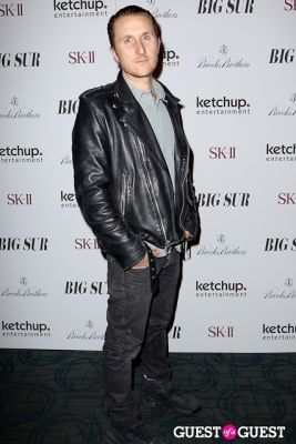 scott campbell in BIG SUR New York Movie Premiere