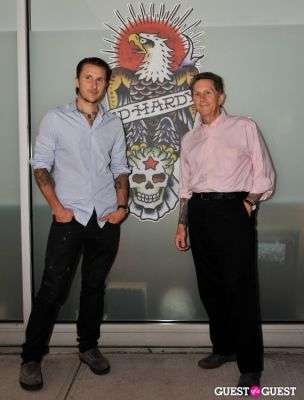 scott campbell in Ed Hardy:Tattoo The World documentary release party
