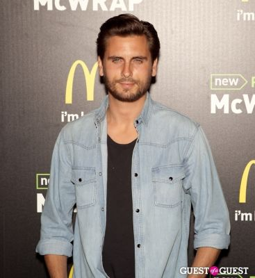 scott disick in McDonald's Premium McWrap Launch With John Martin and Tyga Performance