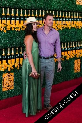 marika dominczyk in The Sixth Annual Veuve Clicquot Polo Classic Red Carpet