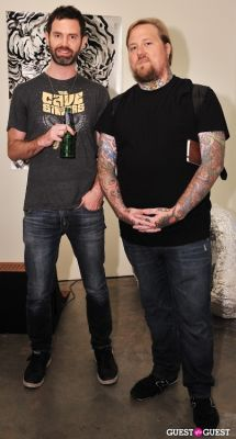 scott ogden in Ed Hardy:Tattoo The World documentary release party