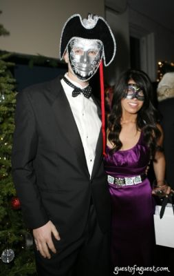 sean campbell in Masquerade christmas party