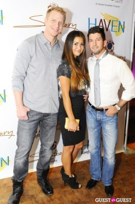 sean lowe in Haven Rooftop ONE Year Anniversary