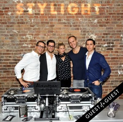 alexandra richards in Stylight U.S. launch event